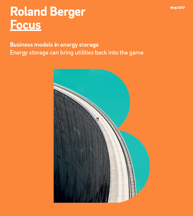 Roland Berger Focus: Business models ins energy storage