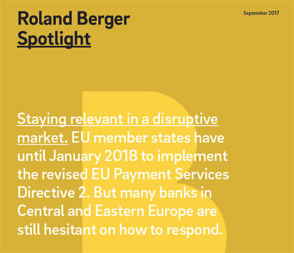 Roland Berger Spotlight: Payment Services Directive 2