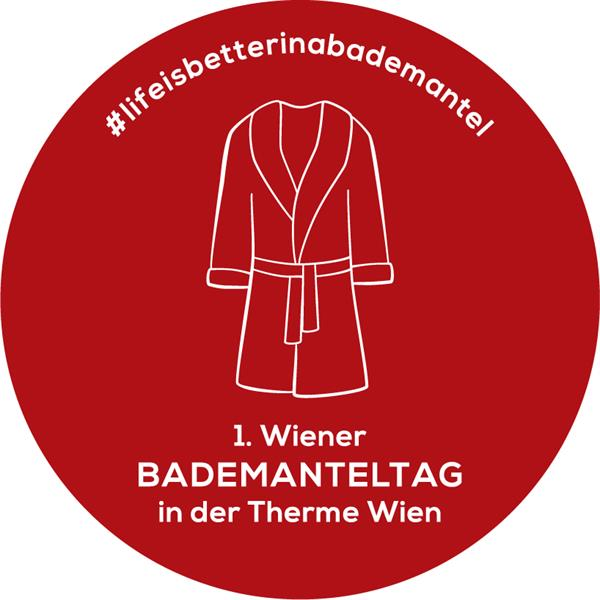 Logo Bademanteltag Therme Wien