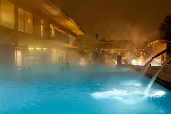 Advent in der Therme Wien